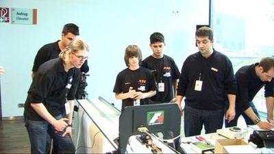 F1 in schools Deutsche Meisterschaft 2008 in der Autostadt Wolfsburg 2