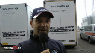 Sportwagen-Ass Jörg Müller erstmals im ADAC GT Masters, Vorschau bei racingTV 4