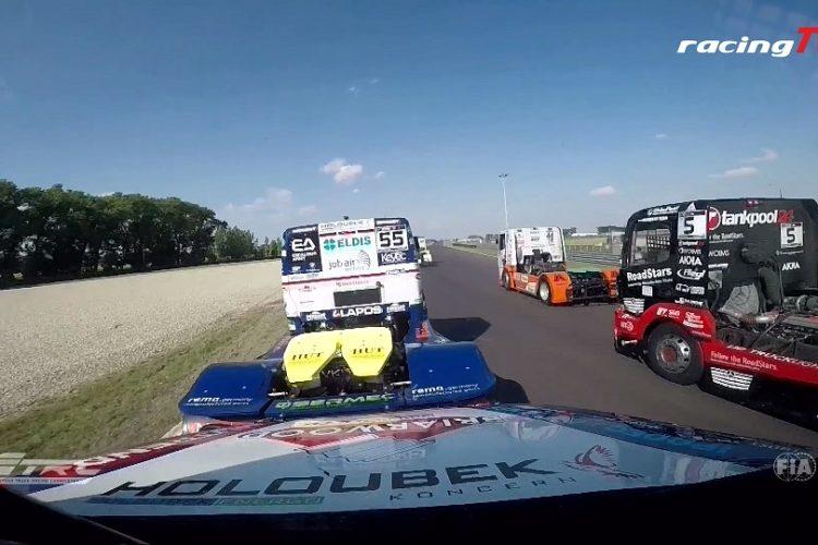 Steffi Halm jagt Jochen Hahn in der Truck Europameisterschaft 6