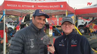 Champion Nasser Al-Attiyah bei Ellen Lohr Dakar 2020 6