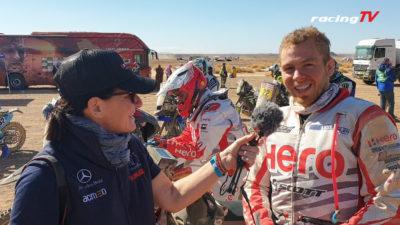 Hero Werksfahrer Sebastian Bühler zufrieden mit Dakar 2020 10