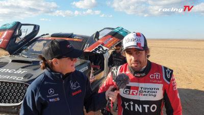 Jacky Ickx und Fernando Alonso bei Ellen Lohr Dakar 2020 12