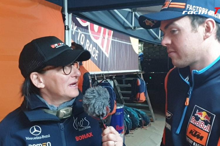 Matthias Walkner zur aktuellen Situation der Dakar 2020 bei Ellen Lohr 10