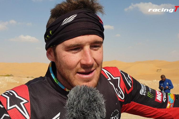 Ricky Brabec mit Honda in Führung bei der Motorrad Dakar 2020 10