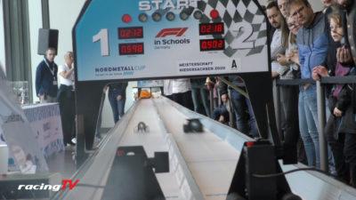 Formel 1 in der Schule Nordmetallcup 2020 Auftakt in der Autostadt 8
