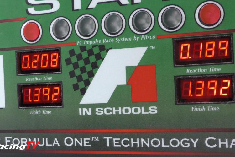 Formel 1 in der Schule Nordrhein-Westfalen Meisterschaft 2020 Interviews und Rennen 4