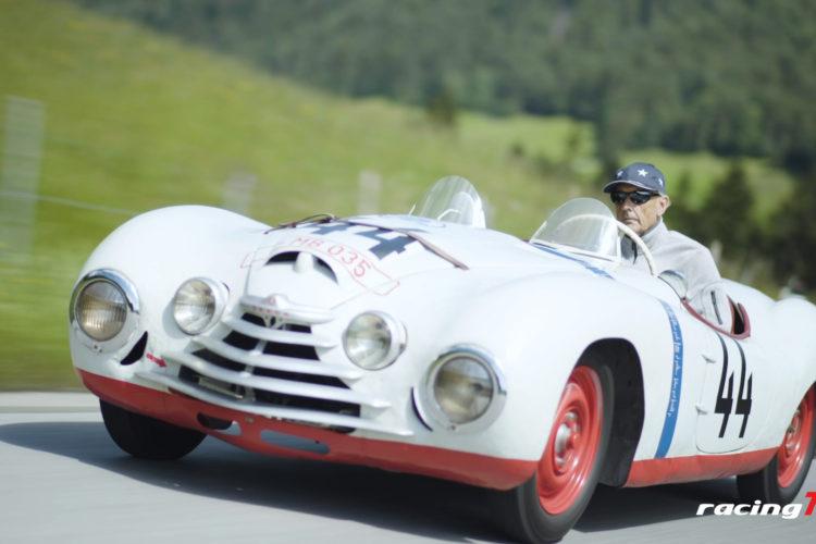 Le Mans Skoda von 1950 reaktiviert mit Hans Joachim Strietzel Stuck 8