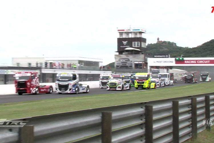 Auftakt zur ETRC Truck Europameisterschaft 2020 in Most 4