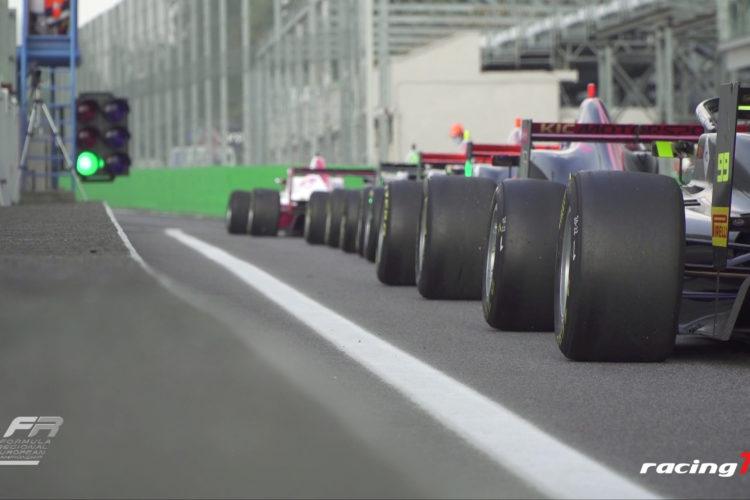 Patric Pasma dominiert die FiA Formula Regional European Championship 2020 in Monza 4