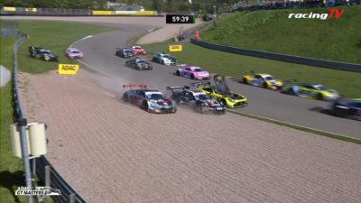 Saisonhalbzeit ADAC GT Masters Sachsenring Zusammenfassung aller Rennen 1