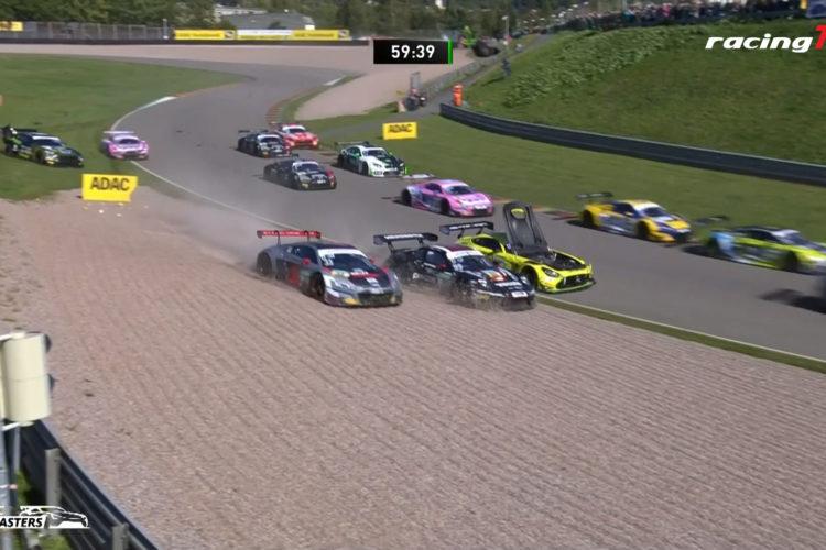 Saisonhalbzeit ADAC GT Masters Sachsenring Zusammenfassung aller Rennen 4