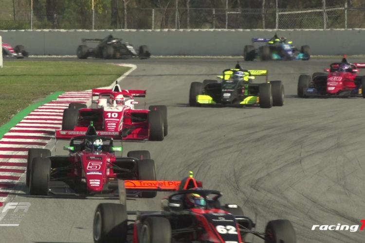 FiA Formula Regional läuft in Barcelona gut für die Punktesammler 10