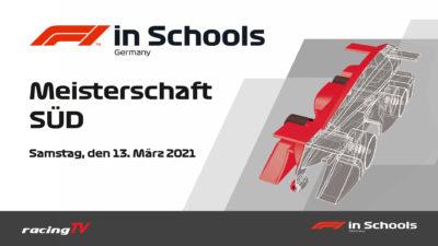 Formel 1 in der Schule 2021 Regionalmeisterschaft Süd mit allen Teams und allen Rennen 3