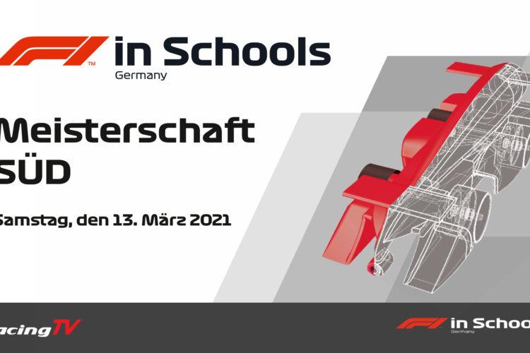 Formel 1 in der Schule 2021 Regionalmeisterschaft Süd mit allen Teams und allen Rennen 8
