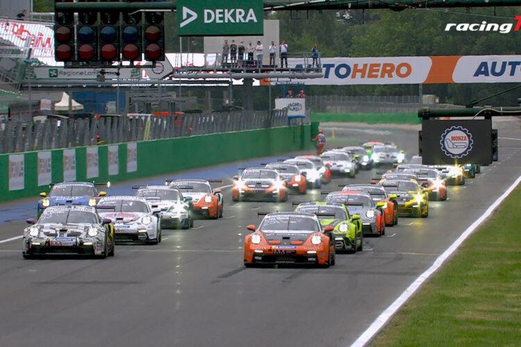 Porsche Carrera Cup Deutschland 2021 bei der DTM in Monza 6